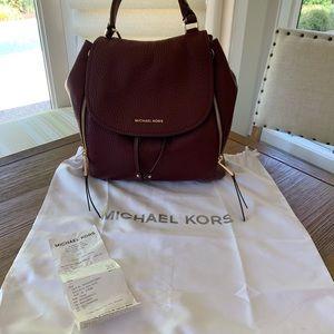 Michael Kors large backpack/purse
